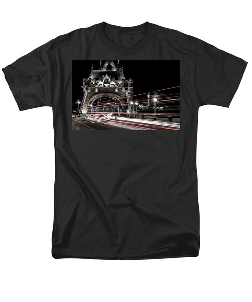 Tower Bridge London Men's T-Shirt  (Regular Fit) by Martin Newman