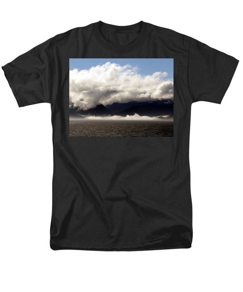 Men's T-Shirt  (Regular Fit) featuring the photograph Tracy Arm Fjord by Jennifer Wheatley Wolf