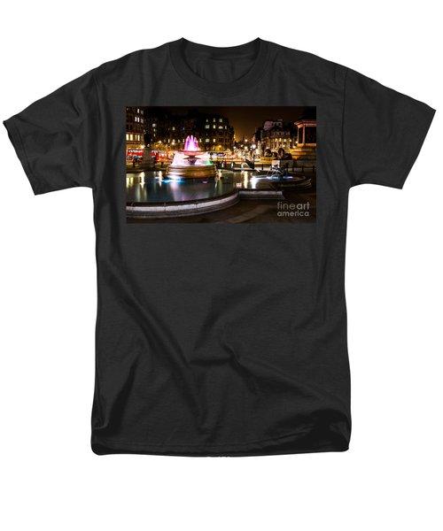 Men's T-Shirt  (Regular Fit) featuring the photograph Trafalgar Square by Matt Malloy
