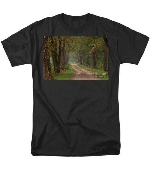 Trail Along The Canal Men's T-Shirt  (Regular Fit)