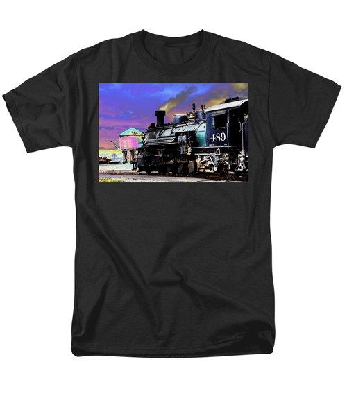 Train 489 Men's T-Shirt  (Regular Fit) by Steven Bateson