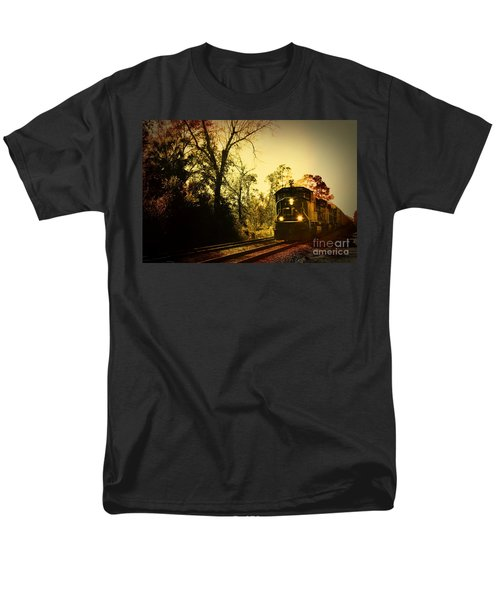 Train Ride Men's T-Shirt  (Regular Fit) by Janice Spivey