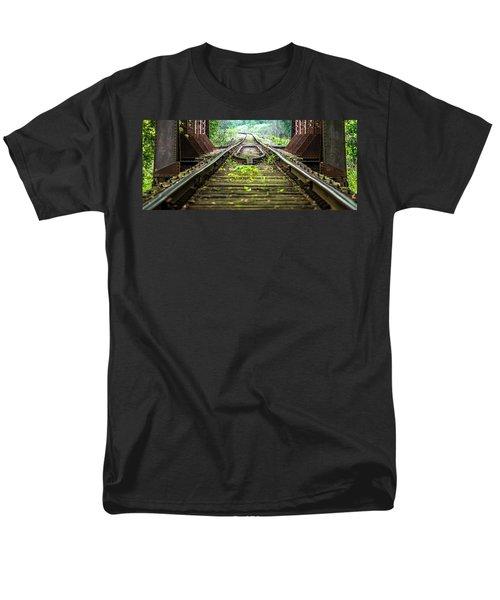 Train Trestle 2 Men's T-Shirt  (Regular Fit)
