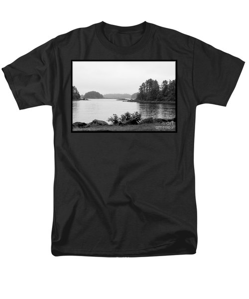 Tranquil Harbor Men's T-Shirt  (Regular Fit) by Victoria Harrington