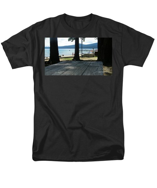 Men's T-Shirt  (Regular Fit) featuring the photograph Tranquil Moment by Bobbee Rickard