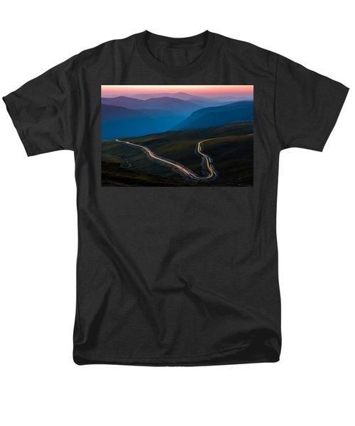 Men's T-Shirt  (Regular Fit) featuring the photograph Transalpina by Mihai Andritoiu