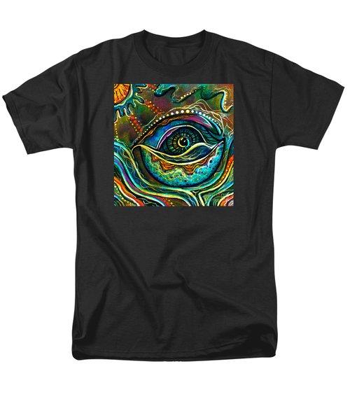 Transitional Spirit Eye Men's T-Shirt  (Regular Fit) by Deborha Kerr