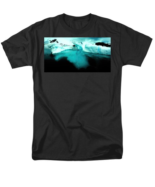 Men's T-Shirt  (Regular Fit) featuring the photograph Transparent Iceberg by Amanda Stadther