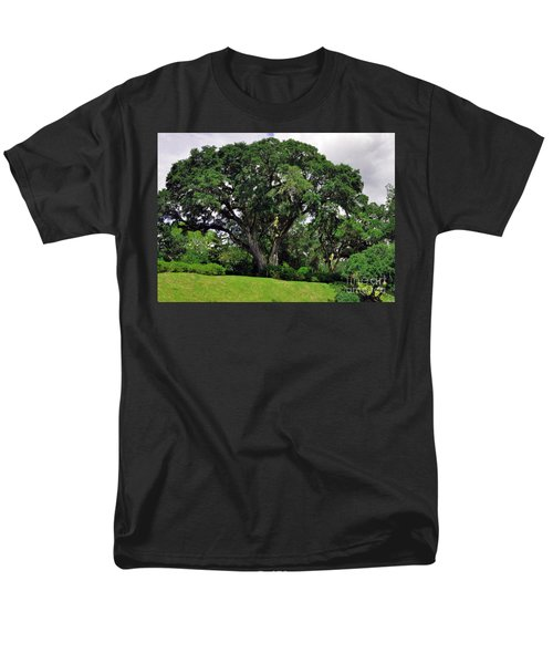 Tree By The River Men's T-Shirt  (Regular Fit) by Lydia Holly