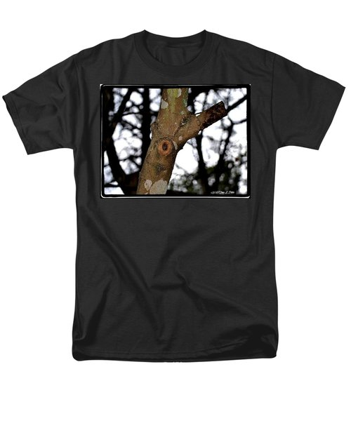 Men's T-Shirt  (Regular Fit) featuring the photograph Tree Observation by Tara Potts