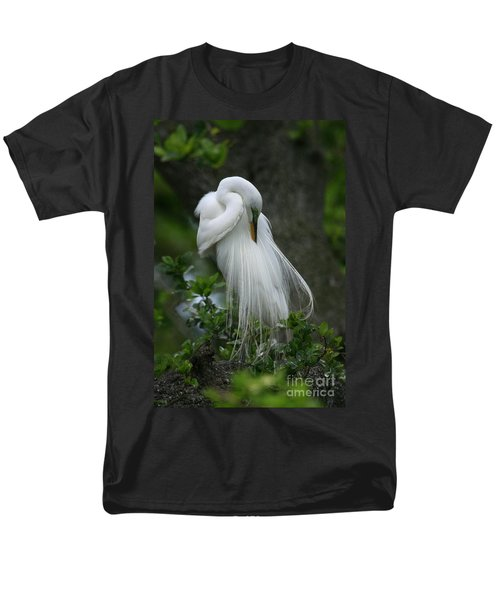 Men's T-Shirt  (Regular Fit) featuring the photograph Tree Of Plumes by John F Tsumas