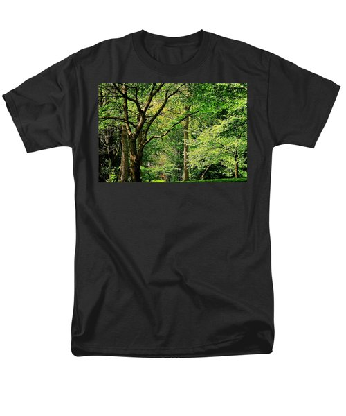 Men's T-Shirt  (Regular Fit) featuring the photograph Tree Series 3 by Elf Evans