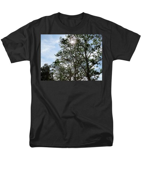 Trees At The Park Men's T-Shirt  (Regular Fit) by Laurel Powell