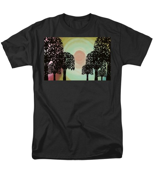 Trees Of Light Men's T-Shirt  (Regular Fit)