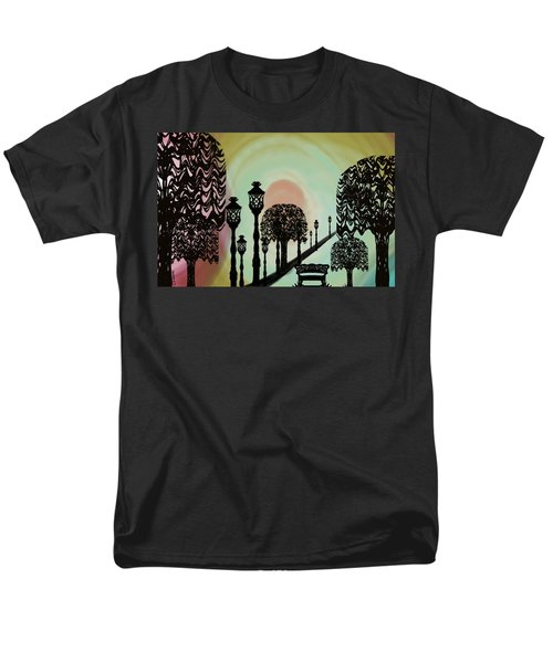 Trees Of Lights Men's T-Shirt  (Regular Fit)