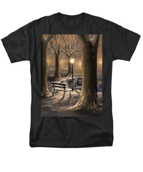 Trees Men's T-Shirt  (Regular Fit) by Veronica Minozzi