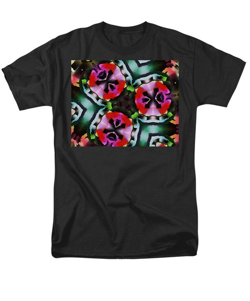 Men's T-Shirt  (Regular Fit) featuring the digital art Triad by David Lane