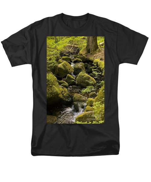 Men's T-Shirt  (Regular Fit) featuring the photograph Tributary by Sean Griffin