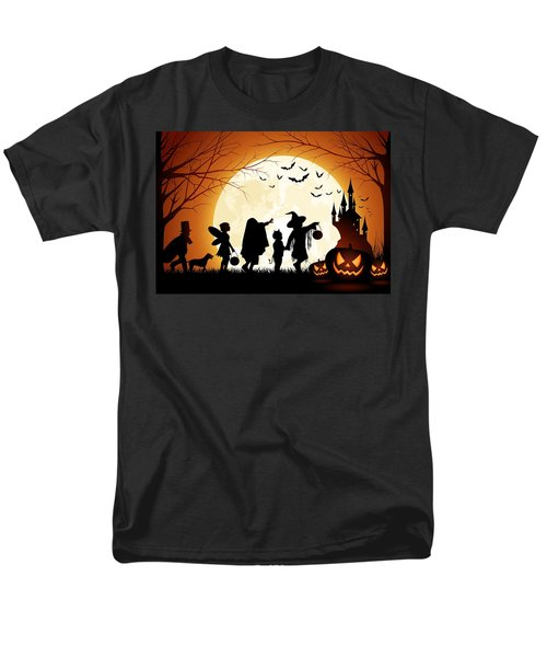 Trick Or Treat Men's T-Shirt  (Regular Fit) by Gianfranco Weiss