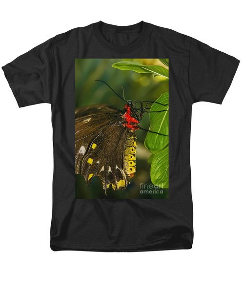 Men's T-Shirt  (Regular Fit) featuring the photograph Troides Helena Butterfly  by Olga Hamilton