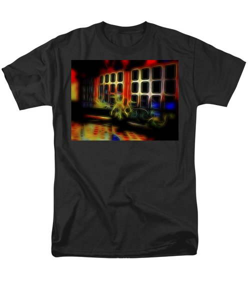Men's T-Shirt  (Regular Fit) featuring the digital art Tropical Drawing Room 2 by William Horden