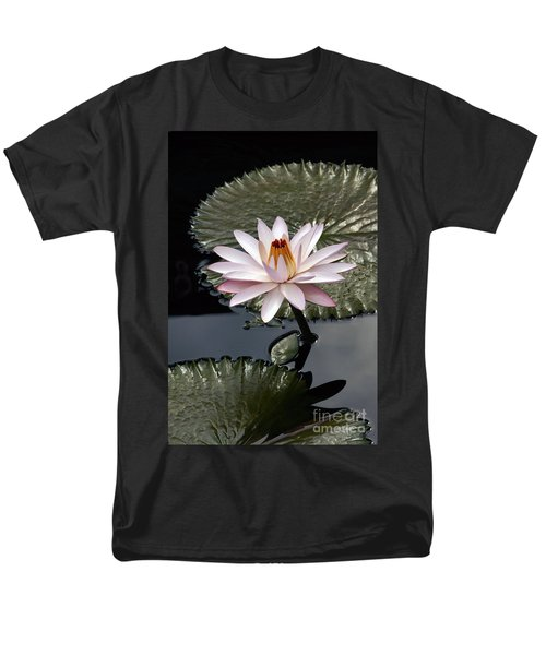 Tropical Floral Elegance Men's T-Shirt  (Regular Fit) by Byron Varvarigos