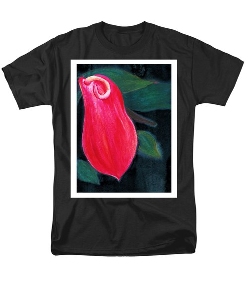 Tropical Flower 2 Men's T-Shirt  (Regular Fit) by C Sitton