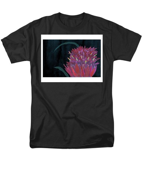 Tropical Flower Men's T-Shirt  (Regular Fit) by C Sitton
