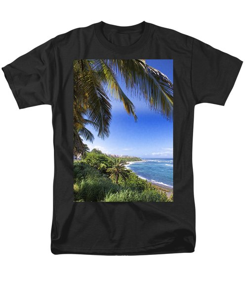 Men's T-Shirt  (Regular Fit) featuring the photograph Tropical Holiday by Daniel Sheldon