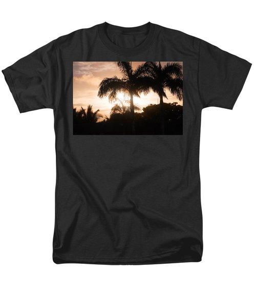 Tropical Sunrise Men's T-Shirt  (Regular Fit) by Mustafa Abdullah