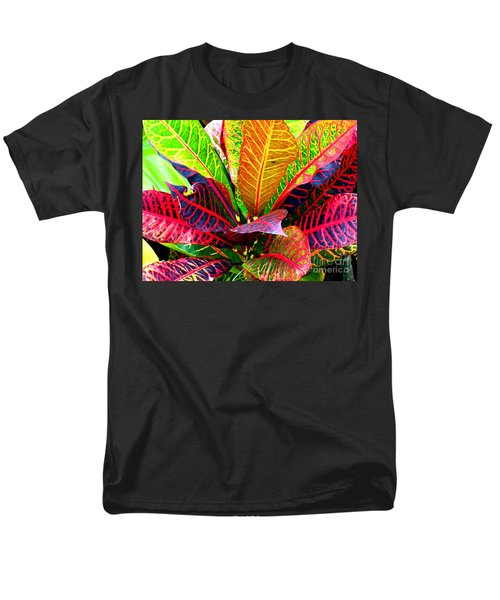 Tropicals Gone Wild Naturally Men's T-Shirt  (Regular Fit) by David Lawson