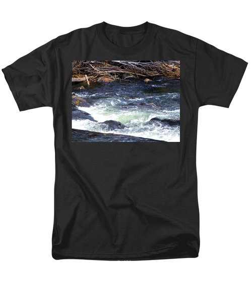 Men's T-Shirt  (Regular Fit) featuring the photograph Trout River by Jackie Carpenter