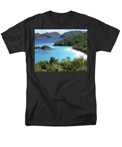 Men's T-Shirt  (Regular Fit) featuring the photograph Trunk Bay II by Carol  Bradley