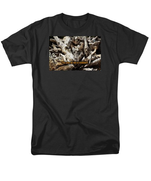 Men's T-Shirt  (Regular Fit) featuring the photograph Truthfulness by Phyllis Denton