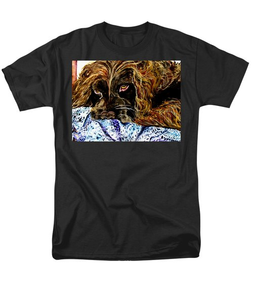 Trying To Sleep Here Men's T-Shirt  (Regular Fit) by Lil Taylor