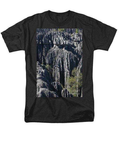 Men's T-Shirt  (Regular Fit) featuring the photograph Tsingy De Bemaraha by Rudi Prott