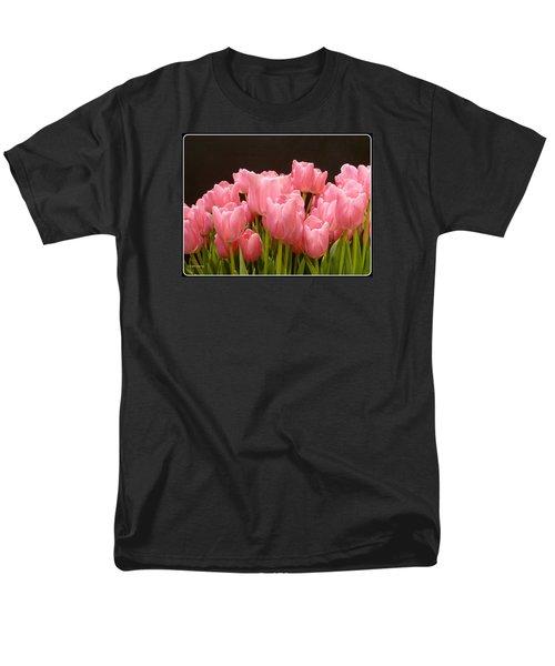 Tulips In Bloom Men's T-Shirt  (Regular Fit) by Lingfai Leung