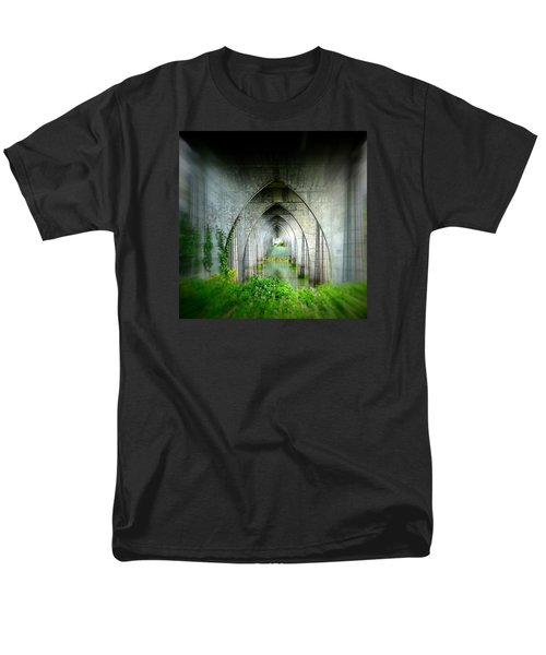 Men's T-Shirt  (Regular Fit) featuring the photograph Tunnel Effect by Nick Kloepping