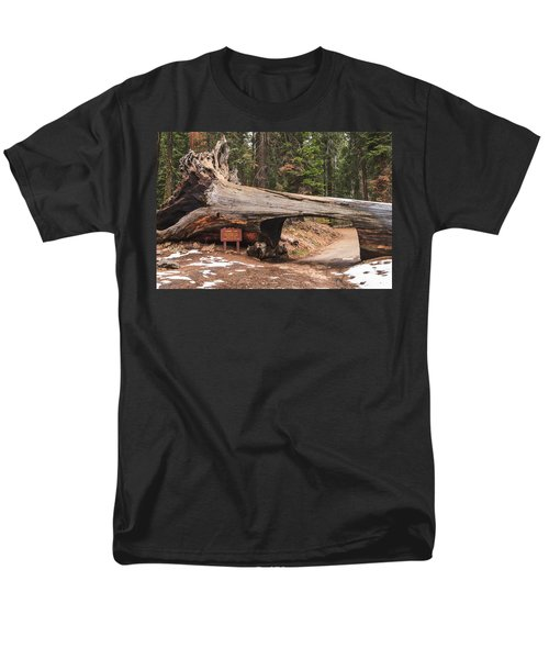 Tunnel Log Men's T-Shirt  (Regular Fit) by Muhie Kanawati
