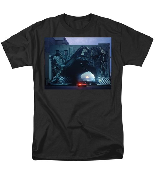 Tunnelvision Men's T-Shirt  (Regular Fit) by Blue Sky