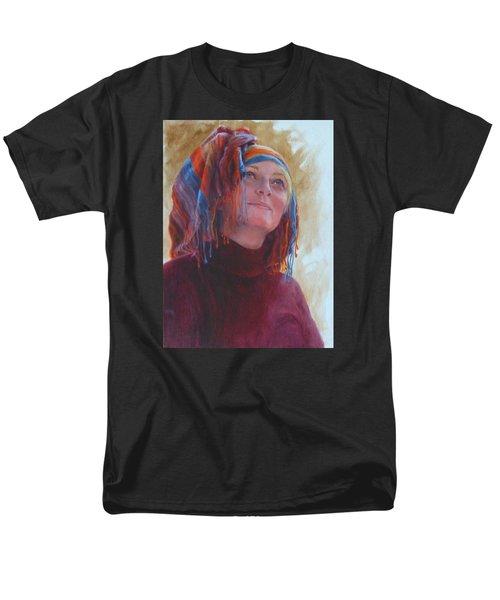 Turban 1 Men's T-Shirt  (Regular Fit) by Connie Schaertl