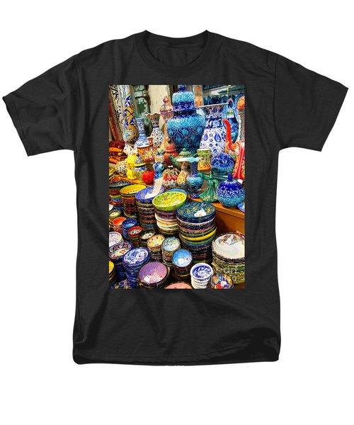 Turkish Ceramic Pottery 1 Men's T-Shirt  (Regular Fit) by David Smith