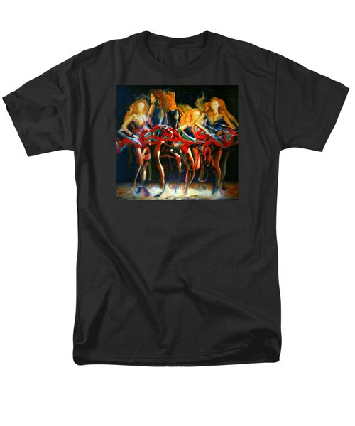 Men's T-Shirt  (Regular Fit) featuring the painting Turning by Georg Douglas