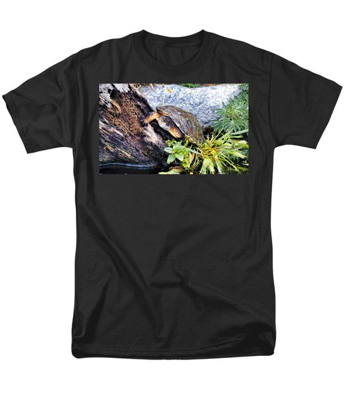 Men's T-Shirt  (Regular Fit) featuring the photograph Turtle 1 by Dawn Eshelman