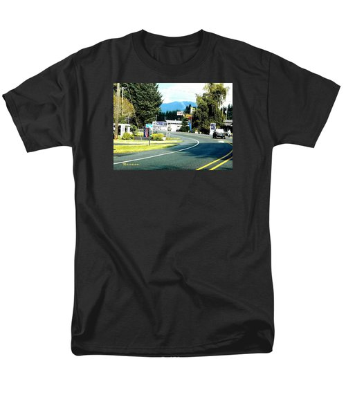Twilight In Forks Wa 2 Men's T-Shirt  (Regular Fit) by Sadie Reneau