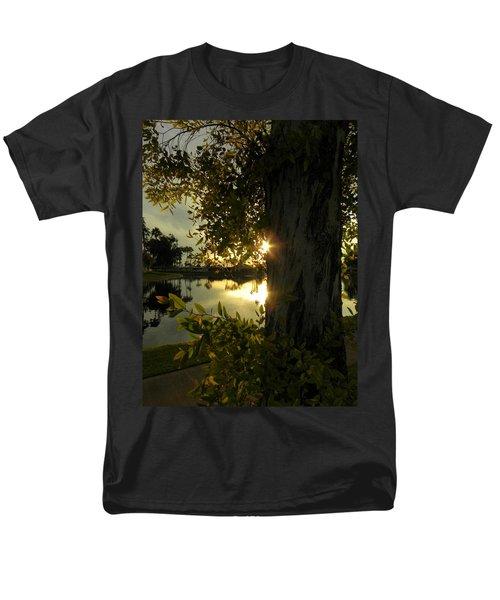 Men's T-Shirt  (Regular Fit) featuring the photograph Twilight Splendor by Deb Halloran
