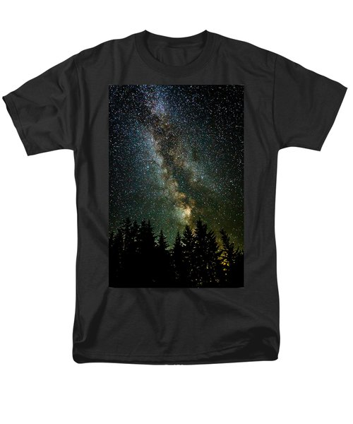 Twinkle Twinkle A Million Stars  Men's T-Shirt  (Regular Fit) by Wes and Dotty Weber