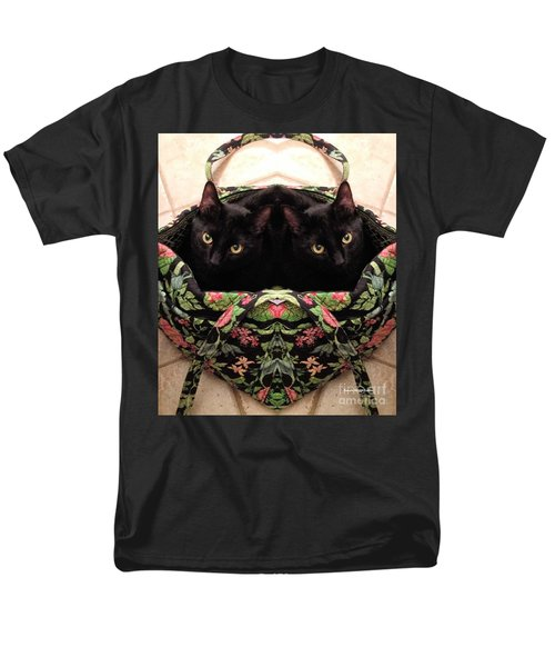 Men's T-Shirt  (Regular Fit) featuring the photograph Twins by Luther Fine Art