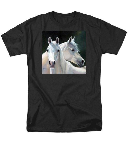Twins Men's T-Shirt  (Regular Fit) by Vivien Rhyan
