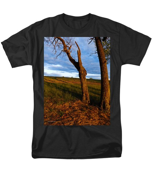 Twisted Tree Men's T-Shirt  (Regular Fit) by Nick Kirby